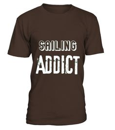 Sailing Addict Hobby T-shirt