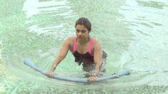 3 min Aqua Tutorial - Learn aqua aerobics exercises online to strengthen...