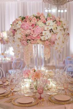 Wedding reception centerpiece idea; Featured Photographer: John Li Photography