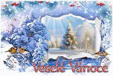vanoce_vanocni_prani Christmas Images, Merry Christmas, Painting, Advent, Merry Little Christmas, Painting Art, Wish You Merry Christmas, Paintings, Painted Canvas