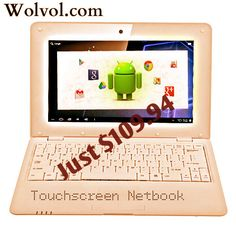 Touch screen netbook is quite effortlessly swiveled, new class of devices rose, touch delicate presentation, join the characteristics of conveyable, light & shoddy netbook where you can get the convertible touchscreen.  Know more :http://www.wolvol.com/touch-screen-netbooks  #touchscreen #netbook