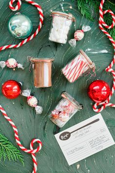 DIY an easy gift by placing LINDOR truffles into mason jars, adding festive ribbon and a recipe card for hot cocoa! Click for more holiday and New Year season ideas.