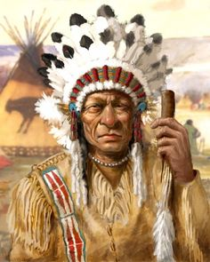 This is the chief of the Midwest Sioux Indians Tribe (Sitting Bull). 22