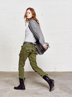 Mos Mosh Fort_Ss_Tee Mendez_Knit_Cardigan Laura_Cargo_Pants