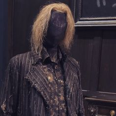 Have you seen Peter Pettigrew's costume in our Dark Arts area? 'We tried to get the texture and colour of the wig to match the animatronic…