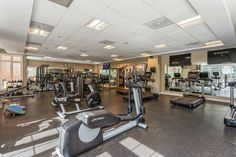 Get your sweat on in our state-of-the-art #fitness center. #Amenities #CT #Apartments #IHaveArrived Apartment Communities, Stamford, Luxury Apartments, Floor Plans, Flooring, Fitness, Home, Ad Home, Wood Flooring