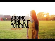 ▶ Adding SUNLIGHT to your photos in photoshop -Tutorial [JK PHOTO] - YouTube