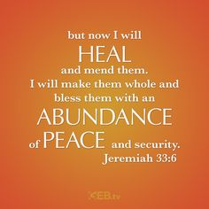 Healing, Abundance and Peace all gifts of our Lord #Harvest #Abundance #VerseOfTheDay #HelpingYouLiveWell