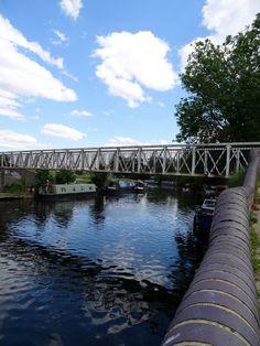 river lea walk, bridge to walthamstow marshes