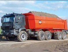 Dump Trucks, Old Trucks, Pickup Trucks, Equipment Trailers, Heavy Equipment, Fiat, Offroad, Vehicles, Gundam