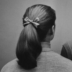 Ponytail, by Nina Leen #vintage #hair