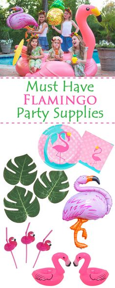 Must have Flamingo Party decorations for a fabulous Tropical Party!