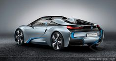 BMW i8 Concept Spyder...sexxxy!!! want one!!