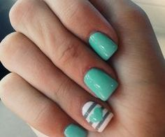mint green nails - Buscar con Google