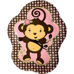 Monkey-Girl-Birthday-Party-Plates (1000×1000)