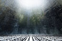 Belgian photographer Reginald Van de Velde has captured some eerily beautiful images of abandoned and active cooling towers, as well as defunct power stations throughout Europe. See