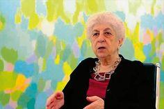 Samia Halaby Artist US (Palestine)  100 Most Powerful Arab Women 2015 in Arts and Media - ArabianBusiness.com
