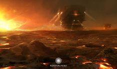 scifi planet environment