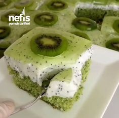 @ Hello everyone, I wish you happy peaceful daysam Welcome to my newfounding friends HVery practical, delicious @ cakes. Pasta Cake, Cookie Recipes, Dessert Recipes, Delicious Desserts, Yummy Food, Food Garnishes, Food Platters, Turkish Recipes, Perfect Food