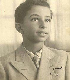 الملك فيصل الثاني ملك العراق عام 1944