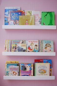 diy toddler bookshelves | DIY Bookshelves | Fun Family Crafts
