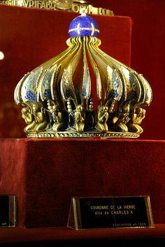 Couronne De La Vierge dite de Charles X. Crown of Charles X.
