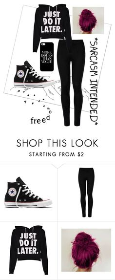 """#60"" by dmartens388 ❤ liked on Polyvore featuring Converse, Wolford and Casetify"