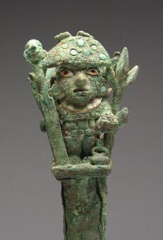 Moche Copper Tumi - Warrior Full Armor