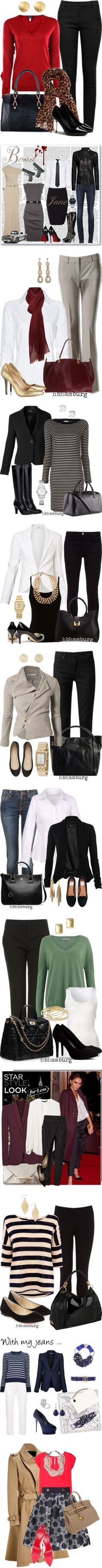 Outfits para ir a trabajar VI by guisella-infantes on Polyvore featuring мода, Helmut Lang, Armani Jeans, Ted Baker, Oasis, KaufmanFranco, MANGO, J Brand, Christian Louboutin and Witchery #manoloblahnikheelsfallwinter #manoloblahnikheelschristianlouboutin