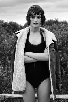 Rebeca Marcos by Rahel Weiss for i-D Magazine December 2013