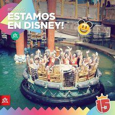 Las chicas divirtiéndose en el agua!#esmeraldaJ16#EstamosEnDisney con #Enjoy15