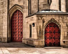 The Red Doors by barbs photography, via Flickr - Oakland
