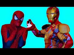 Spiderman vs Iron Man Wake Up PRANK! Superheroes Battle/Fight in Real Life.