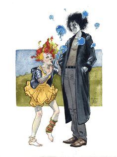 Dream and Delirium by JoriB Shakespeare Midsummer Night's Dream, Famous Artists Paintings, Drawn Together, Popular Stories, Story Arc, Neil Gaiman, Female Stars, Art For Art Sake, Comic Character