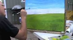 "Oil painting for beginners: #2 ""Sky"""