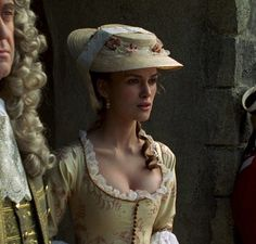 Keira Knightley as Elizabeth Swann inPirates of the Caribbean: The Curse of the Black Pearl (2003).