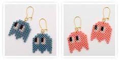 Hama - pacman earring