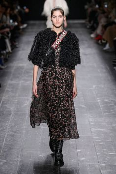 Valentino Fall 2016. See all the best runway looks from Paris Fashion Week here: