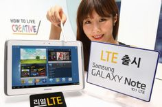 Samsung outs Galaxy Note 10.1 tablet with voice over LTE support