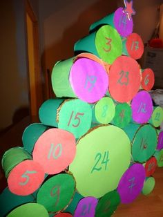 DIY: Advent Calendar | Recyclart