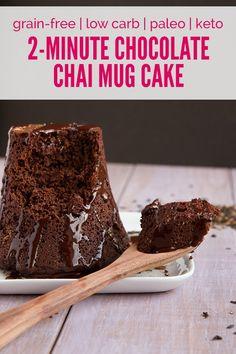 Flourless sugarfree paleo keto chocolate cake--Healthful Pursuit | The Delicious Pursuit of Living Free