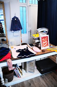 Located in the Marais, Native Kingdom is a store made for children. The clothes are directly imported from Austria, Australia, and United Sates, and designed for 0 to 12 years old only.  http://www.jeudepaumehotel.com/
