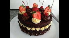 NAKED CAKE DE CHOCOLATE COM CREME DE NUTELLA E LEITE NINHO |   ESPECIAL ...