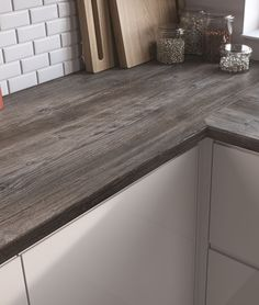 driftwood effect laminate worktop - Google Search