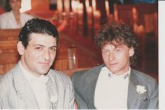 Costa and bestman bff Saki Constantinides wedding day 5 april 1987 johannesburg Great Father, You Are Special, Love You Forever, Bff, Costa, Wedding Day, Husband, People, Pi Day Wedding