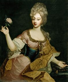 Caroline of Brandenburg-Ansbach by ? (location unknown to gogm) the lost gallery the lost gallery