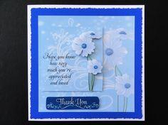 Blue Daisy Mini Kit Gallery - CraftsuPrint