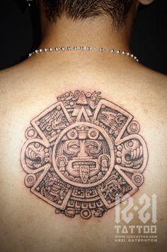 Abel Gatbonton. Aztec Calendar