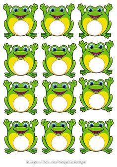 Frog Theme Classroom, Classroom Labels, Classroom Rules, Preschool Classroom, Frog Crafts Preschool, Frog Activities, Kindergarten Activities, Preschool Activities, School Labels