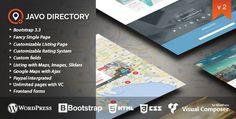 Javo Directory v2.1.1 – WordPress Theme - http://www.freescriptz.co.uk/javo-directory-v2-1-1-wordpress-theme/ #Directory, #Javo, #Theme, #Wordpress